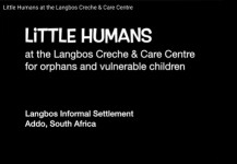 Little Humans at the Langbos Creche & Care Centre